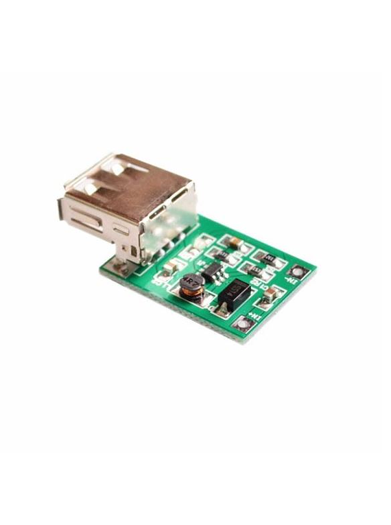 MINI CONVERTIDOR DC-DC TLV61220 USB ELEVADOR