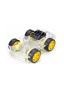 CHASIS SMART CAR CARRO ROBOTICO 4WD