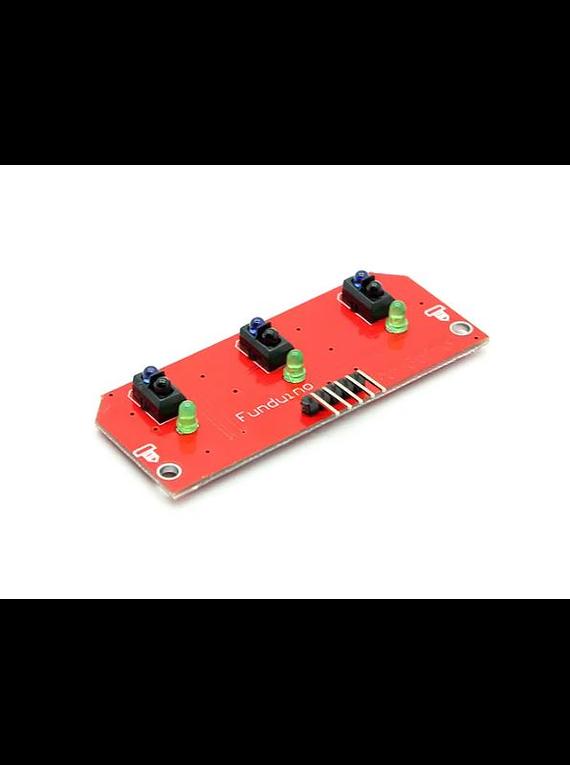 Modulo Sensor Seguidor De Linea De 3 Canales