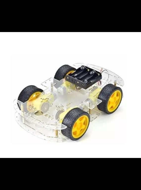 CHASIS SMART CAR CARRO ROBOTICO 4WD
