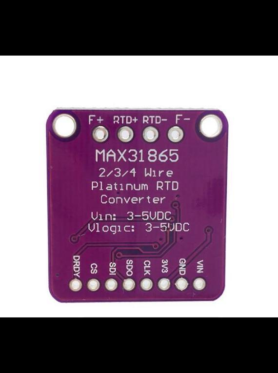 CONVERTIDOR MAX31865 PARA PT100-PT1000