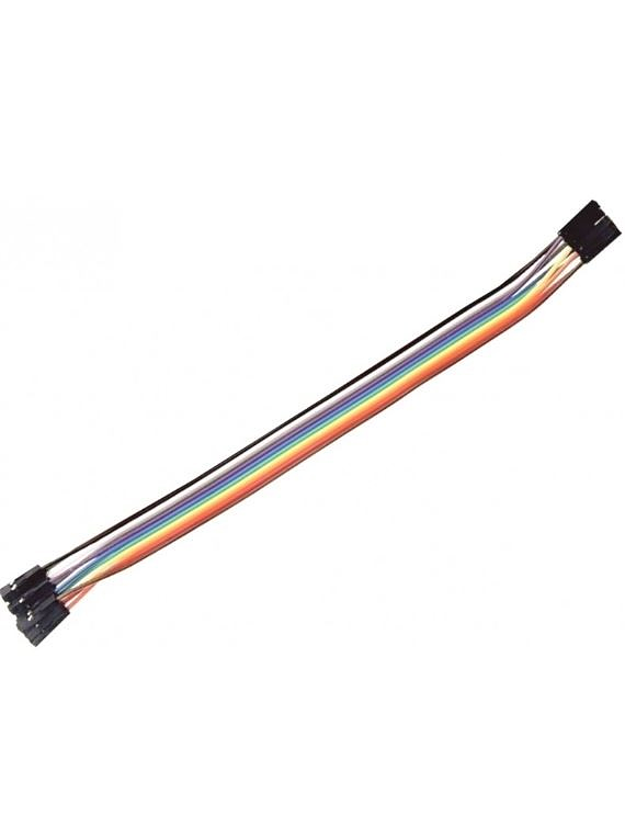 CABLES JUMPERS  H-H 30CM 10 UNIDADES
