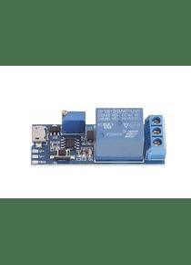 TEMPORIZADOR CON RELE DE 0-24 SEGUNDOS MICRO USB