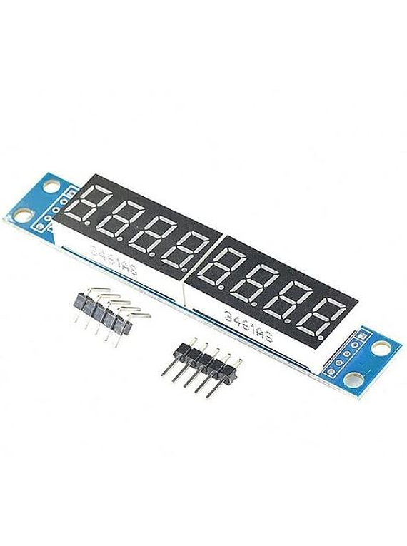DISPLAY 7 SEGMENTOS 8 DIGITOS CON MAX7219