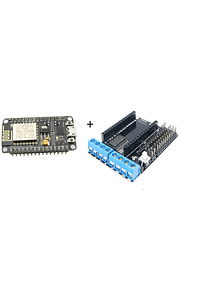 KIT NODEMCU AMICA  ESP8266 + SHIELD L293D