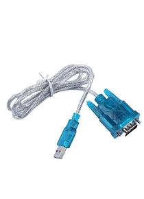 CABLE ADAPTADOR USB A RS232 PUERTO SERIAL DB9