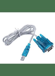 CABLE ADAPTADOR USB A RS232 PUERTO SERIAL DB9