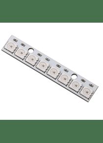MODULO 8 LEDS RGB LINEA WS2812 FC-101