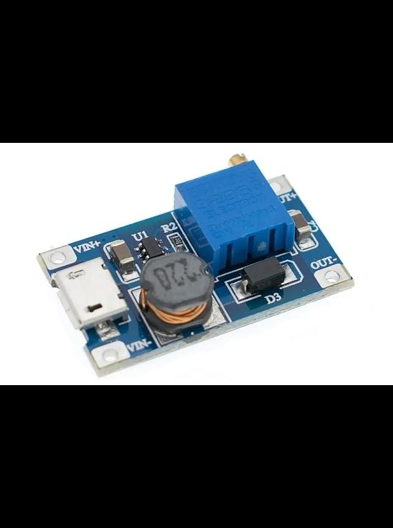 CONVERTIDOR DC-DC ELEVADOR MICRO USB 2A SDB628 XY-016