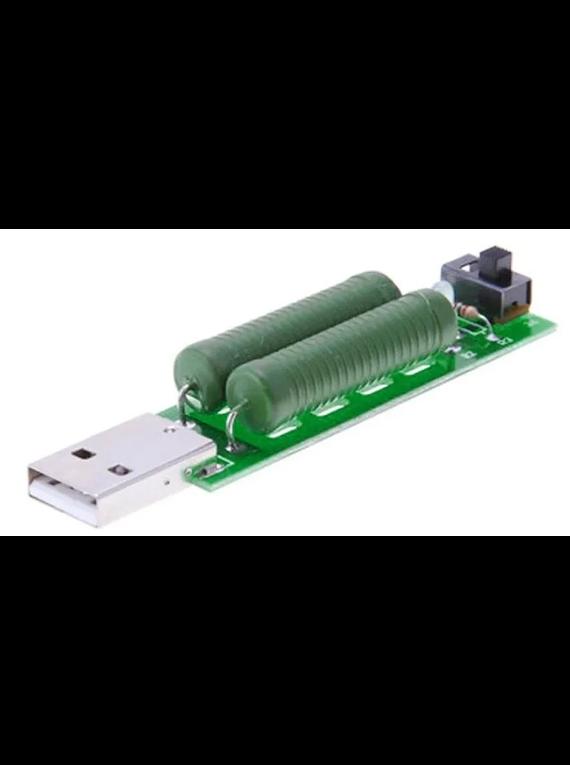 RESISTENCIA DE DESCARGA USB
