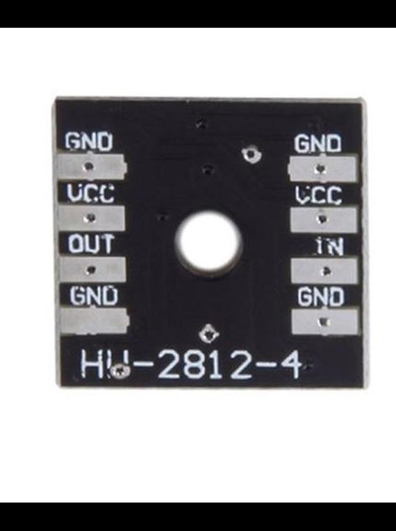 MODULO 4 LEDS RGB WS2812B 4BITS 2x2