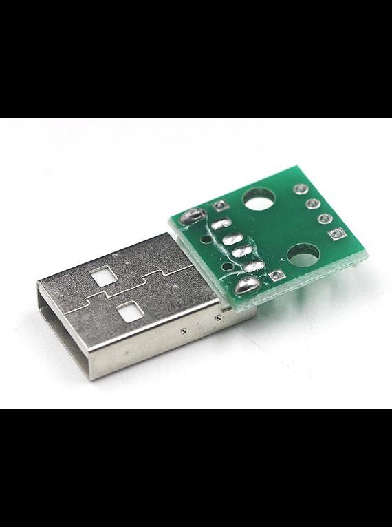 CONVERSOR USB A 4 PUERTOS DIP
