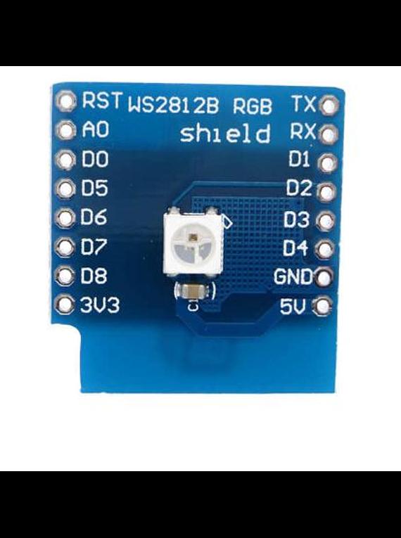SHIELD LED RGB WEMOS D1 MINI