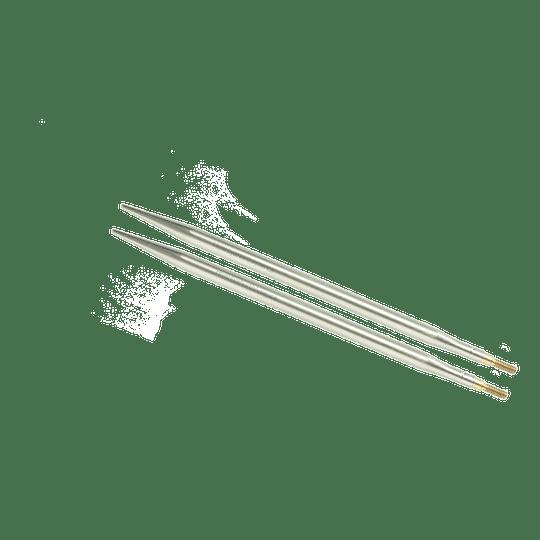 Aguja Intercambiable Acero Inoxidable SHARP 5