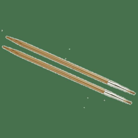Aguja Intercambiable Bambú 4