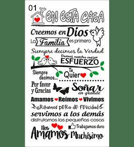 VINILOS ADHESIVOS CON MENSAJES