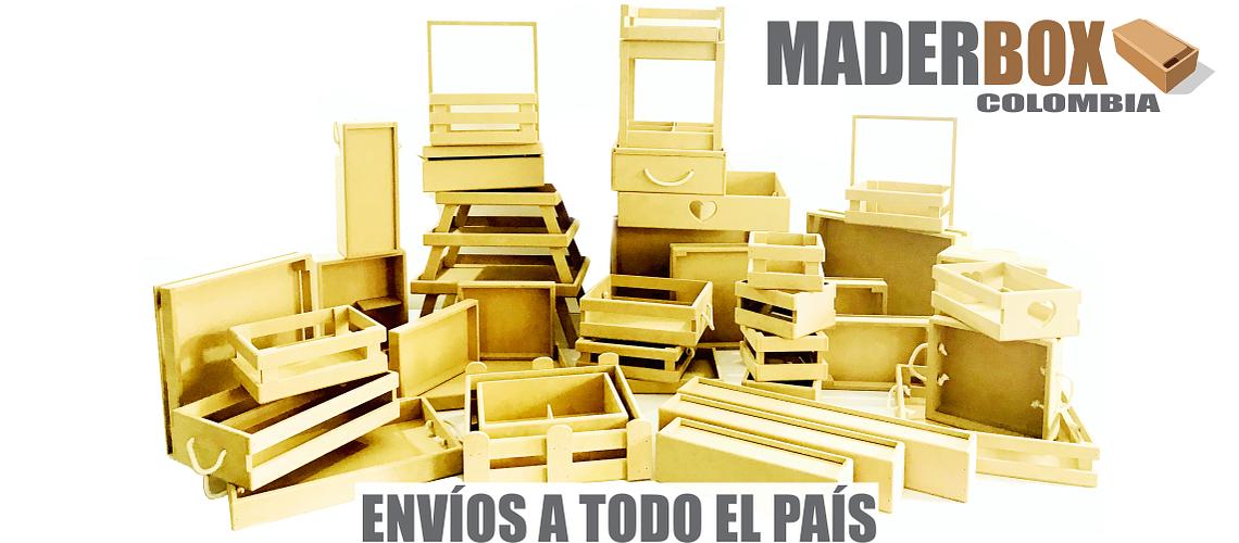 CATALOGO DE CAJAS DE MADERA