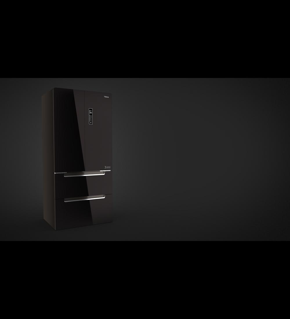 Refrigerador RFD-77820 GBK (Negro)