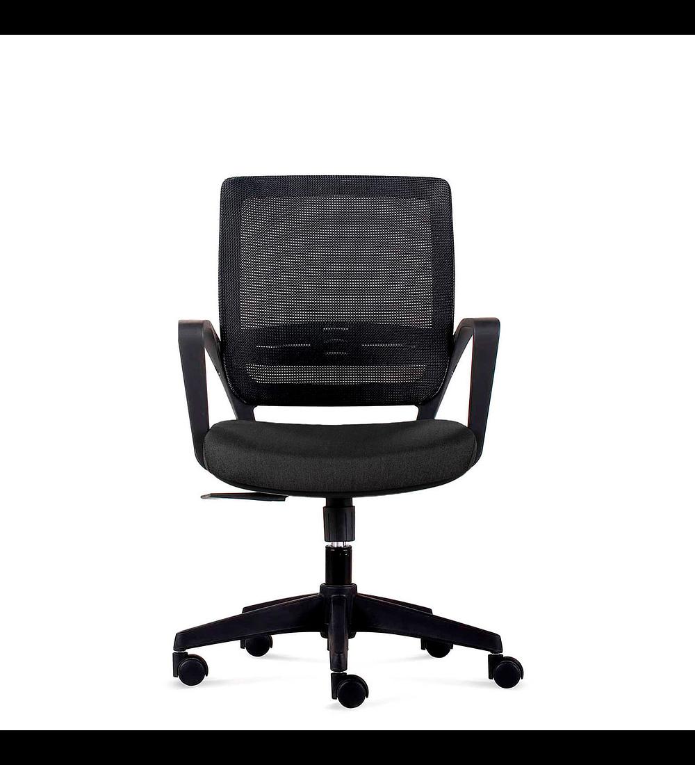 Silla oficina Operativa Job Base nylon Negro