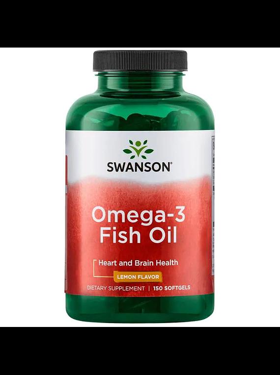 Omega 3 - 150 softgels limón Swanson