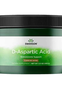 Ácido D- Aspartico 100gr polvo- Swanson