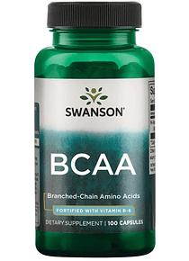 BCAA 100 capsulas - Swanson