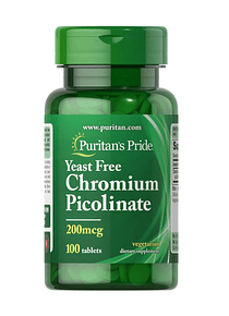 Picolinato de Cromo 100 tabs - Puritan`s Pride
