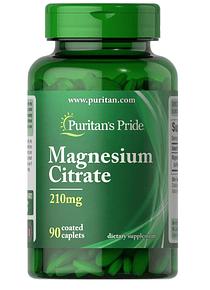 Citrato de Magnesio 90 tabletas Puritan`s Pride