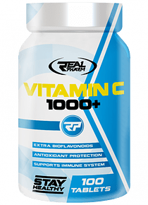 Vitamina C +1000 - 100tabletas Realpharm