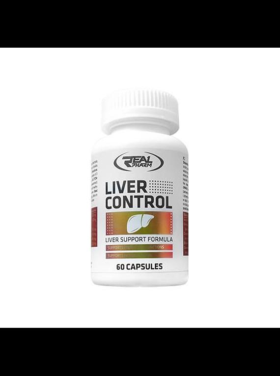 Liver Control 60 capsulas - Real Pharm