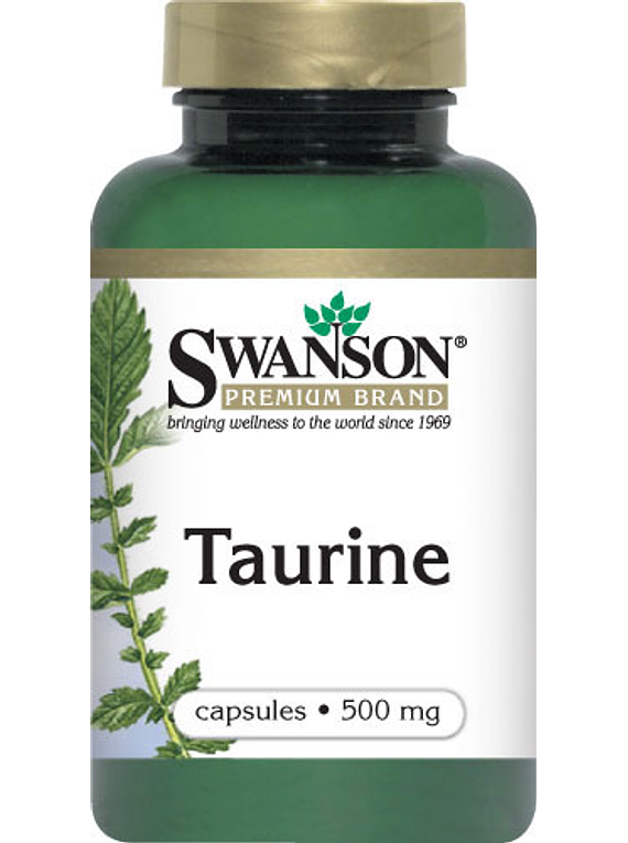 Taurina Swanson- 100 Capsulas 500mg