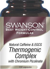 Complejo termogénico Swanson- 120 caps.