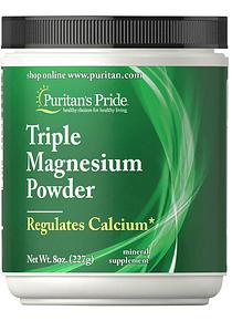 Triple Magnesio polvo 227g - Puritan´s Pride