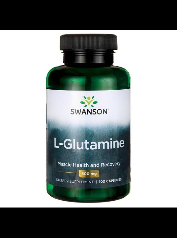 L-Glutamina 100 capsulas - Swanson