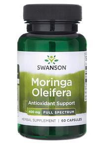 Moringa Oleifera Swanson- 60 Capsulas 400mg