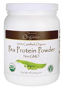 Proteína de Arveja 100% orgánica 503g- Swanson