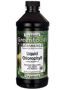 Clorofila líquida 473 ml - Swanson