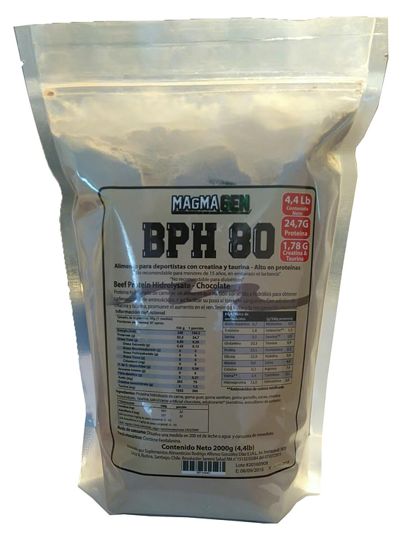 BPH 80-4,4 libras Chocolate, Cookies, Frambuesa