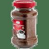 Café puro soluble, en bolsa de 300 gramos.