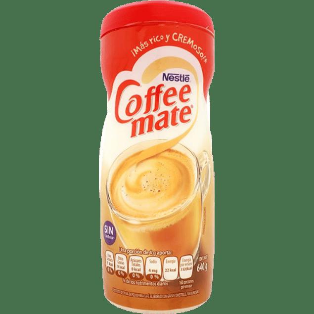 Sustituto de crema para café, frasco de 640 gramos.