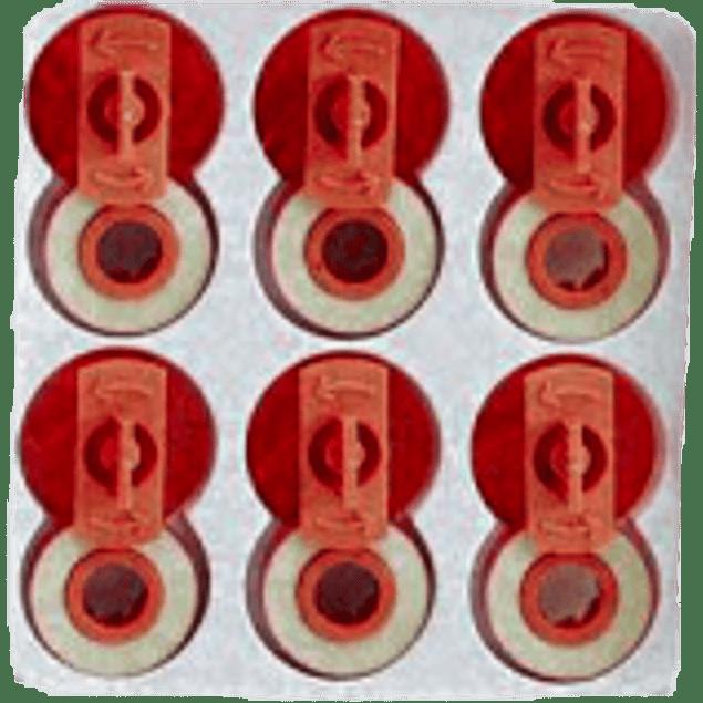 Corrector lift-off para máquina de escribir, paquete con 6 piezas.