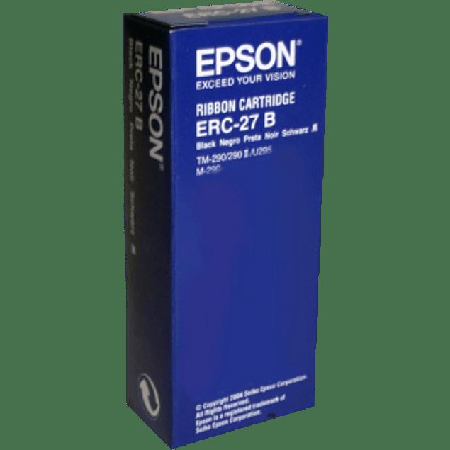 Cinta negra para impresora Epson CTM290-/M290-/TM290 TM290II-/TM295