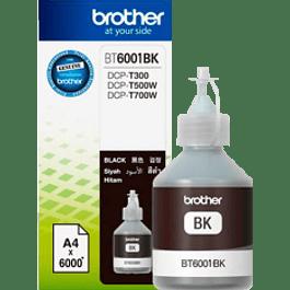 Botella de tinta BT6001BK color negro, 6000 páginas, inyección de tinta.