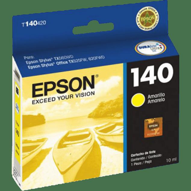 Cartucho de tinta color Amarillo para impresora TX525, TX560WD y TX620FWD