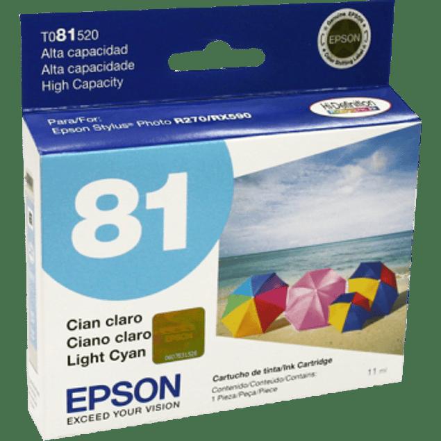 Cartucho de tinta color cyan light de alta capacidad para Stylus Photo R270