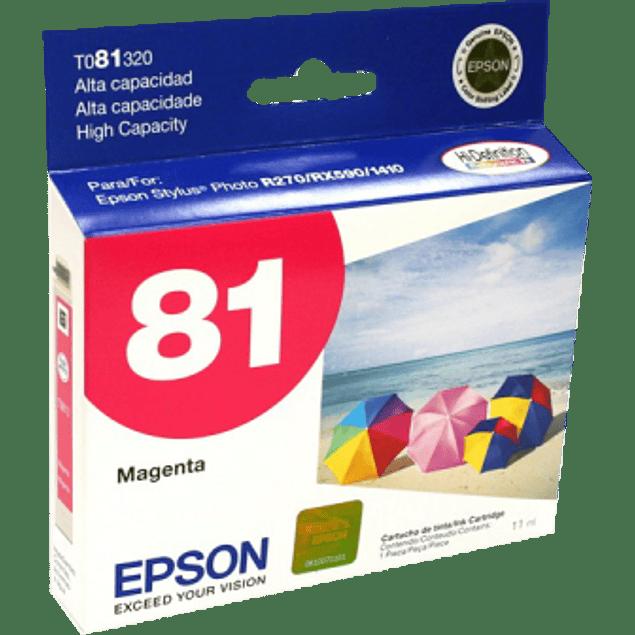 Cartucho de tinta color Magenta de alta capacidad para Stylus Photo R270