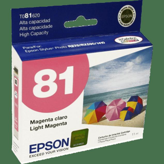 Cartucho de tinta color Magenta Light de alta capacidad para Stylus Photo R270