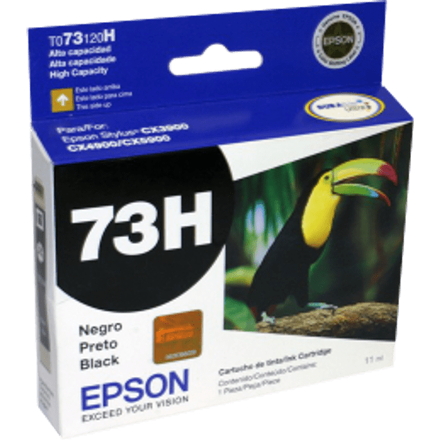 Cartucho de tinta color negro alta capacidad para Stylus CX-3900, CX-5900