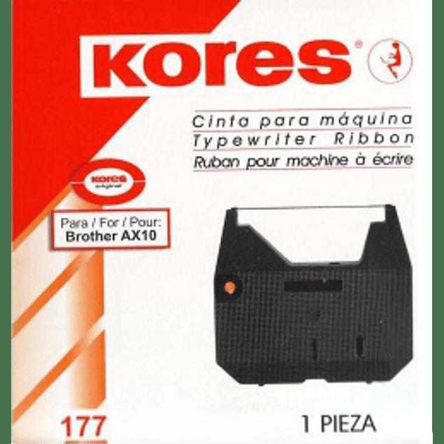 Cinta para máquina de escribir eléctrica marca Brother modelo AX10