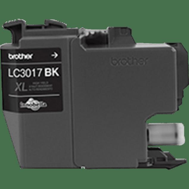 Tinta LC3017BK alto rendimiento color negro